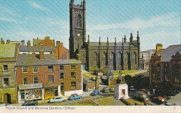 ENGLAND - Oldham - Parish Church And Memorial Gardens - Manchester