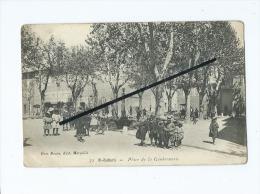 CPA  - St Saint Zacharie  - Place De La Gendarmerie - Saint-Zacharie