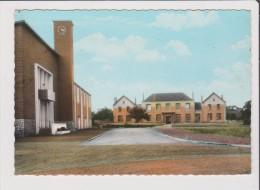 CPSM Grand Format - SAINS EN GOHELLE - Mairie Et école - France