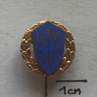 Badge (Pin) ZN001397 - Fencing (Fechten / Macevanje) 1895 - Fencing