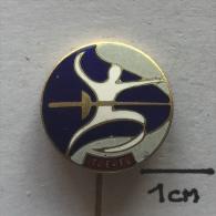 Badge / Pin ZN001398 - Fencing Türkiye Eskrim Federsyonu (Turkey Federation) - Fencing