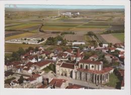 CPSM Grand Format - ENNEZAT - Vue Aérienne - L'Eglise - Ennezat
