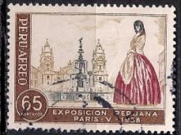 B257 - Peru 1958 -Treasures Of Peru Exhibition, Paris  Used - Peru