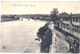Port Ste Foy Le Quai Timbrée TTB - France