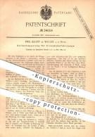 Original Patent - E. Klopp , Witten / Ruhr , 1885 , Seitenkupplung Für Eisenbahnen , Eisenbahn , Kupplungen , Lokomotive - Historische Dokumente
