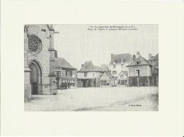 Gravure   Repro De CPA De La Guerche De Bretagne (Ille Et Vilaine) Voir Description - Altre Collezioni