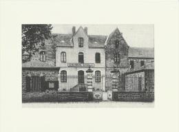 Gravure   Repro De CPA De La Guerche De Bretagne (Ille Et Vilaine) La Gendarmerie - Autres Collections