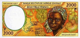 East African States - Afrique Centrale Tchad 2000 Billet 2000 Francs Pick 603 G Neuf 1er Choix UNC - Chad