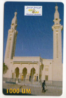 MAURITANIE RECHARGE MAURITEL MOBILE - Mauritanië