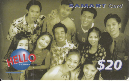 CAMBODIA - People, Samart Prepaid Card $20, Exp.date 17/01/03, Used - Cambodia
