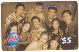 CAMBODIA - People, Samart Prepaid Card $5, Exp.date 16/01/03, Used - Cambodia
