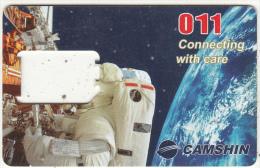 CAMBODIA - Astronaut, Camshin GSM, Used - Cambodia