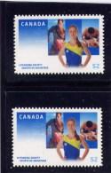 CANADA, 2008,  # 2282ii &82 Iii,   LIFESAVING SOCIETY  CENTENNIAL, DIE CUT FROM QUARTELY PACK MNH - Carnets