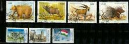 Tadjikistan Scott N° 15.16.17.18.27.28.30...oblitérés - Tadjikistan