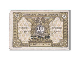 FRENCH INDO-CHINA, 10 Cents, 1942, KM:89a, Undated (1942), SUP - Indochine