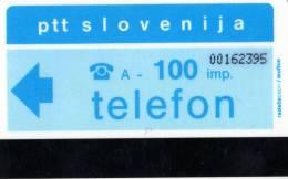 TELECARTE MAGNETIQUE SLOVENIE  100 Imp  *** - Slovénie