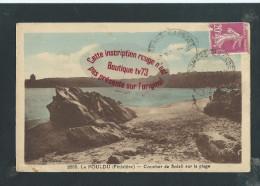 M239 - LE POULDU Coucher De Soleil Sur La Plage - Bretagne - Finistère - Le Pouldu