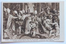ROMA - ARCIBASILICA LATERANENSE DEL SS. SALVATORE - Il Battesimo Di Costantino - Affresco Di Cristofan - Roma (Rome)