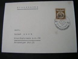 ==  DR Cv. Drucksache 10 Jahre Machtübernahme 1943 - Storia Postale
