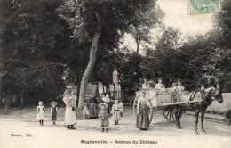 78 - MAGNANVILLE - Avenue Du Château - Magnanville