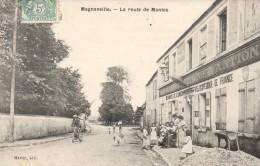 78 - MAGNANVILLE - La Route De Mantes - Magnanville