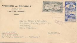 CARACAS - 1937 , Brief Nach Annaburg - Venezuela