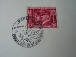 == DR SST Berlin Auf 763  1941 - Storia Postale