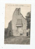 Cp , 37 , CHINON , Le Château , Salle Ou Jeanne D'Arc Est Venue Reconnaitre CHARLES VII , Vierge - Chinon