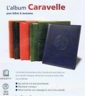 ALBUM CARAVELLE BLEU Pour Billets Avec 10 Recharges - Matériel