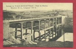 Walk-Robertville - Pont De Haelen - Barrage  ( Voir Verso ) - Waimes - Weismes