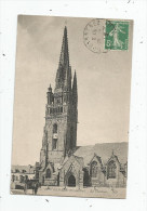 Cp , 29 , PLOARE , Le Clocher , Voyagée 1919 - France