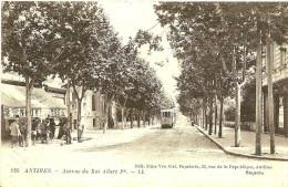 Autres. L'Avenue Du Roi Albert 1er. - Antibes