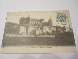 CPA   CHATEAU D HAUTEFORT 1904 - Other Municipalities