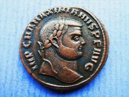 MAXIMIANUS Herculius (285-310) Follis Alexandria GENIO POPVLI ROMANI - 6. Die Tetrarchie Und Konstantin Der Große (284 / 307)