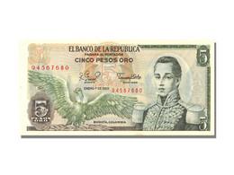 5 Pesos Oro Type Cordoba - Colombie