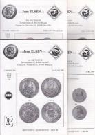 Catalogues Jean ELSEN - Ventes Publiques - Lot De 4 Catalogues - Année 1989 - Français