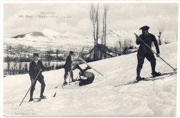 Les Alpes - GAP - Plaisirs D' Hiver - Le Skis    (83990) - Gap