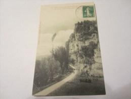 CPA STATION PREHISTORIQUE DES EYZIES ROCHERS DE LA GORGES D ENFER 1913 - Other Municipalities