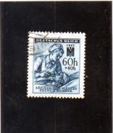 1942 Boemia E Moravia - Pro Croce Rossa - Used Stamps
