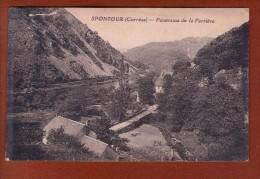 1 Cpa SPONTOUR Panorama De La Ferrière - Andere Gemeenten