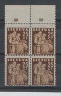 Lithuania Post Stamps 1940 MNH - Lithuania