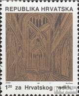 Kroatien Z8D (kompl.Ausg.) Postfrisch 1991 Gedenkgottesdienst - Croatia