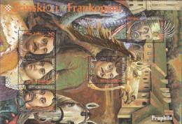 Kroatien Block13 (kompl.Ausg.) Postfrisch 1996 Fürstenfamilie - Kroatien