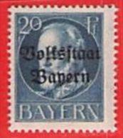 MiNr.121 A   Xx Altdeutschland Bayern - Bayern