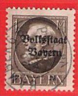 MiNr.128 II A  O Altdeutschland Bayern - Bayern