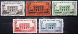 MARTINIQUE               N° 191/195                   NEUF* - Martinique (1886-1947)