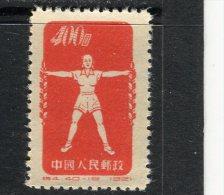 CHINE - Y&T N° 937B (*) - Culture Physique Par La Radio - 1949 - ... People's Republic