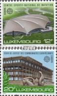 Luxemburg 1174-1175 (kompl.Ausg.) Postfrisch 1987 Architektur - Luxemburg