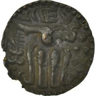 Monnaie, Ceylon, Octopus Man, SUP, Bronze - Sri Lanka