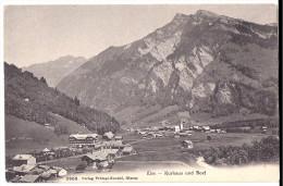 ELM: Kurhaus Und Dorf ~1910 - GL Glaris